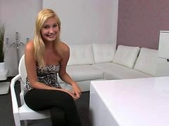 Blonde Amateur Fucked Vibed On Casting