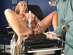 Dirty Doctor Gets Hot Back Room Blowjob