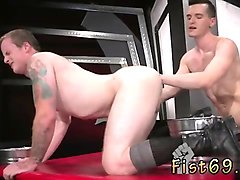 boy big cock fisting boy bondage gay first time in an acroba