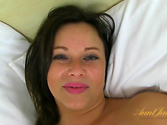 Anna Joy in Masturbation Movie - AuntJudys