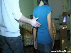 Teen Getting Throat Screwed