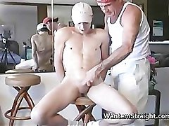 Exciting hetero dudes in free gay porno action part4
