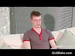 Nick L jerking off on a sofa part1