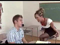 Mature Teacher Brandi Love