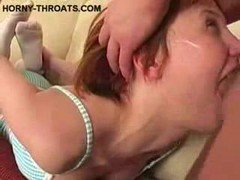 Fucking Slimy Teen Throat
