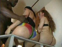 Interracial Orgy With A Hot Shemale