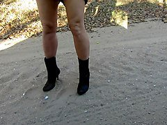 modeling my boots