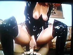 pvc ladies play in boots and pvc outfith nr2