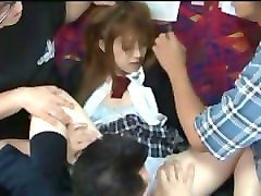 pretty girl gangbanged on bus (full movie:adf.ly/1nlext)