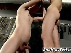 young gay twink boys farming flogged and face fucked