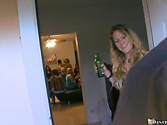college chicks suck cock at dancing bear party