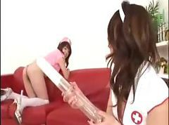 Japanese enema nurses CRAZY
