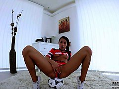 sporty chick  lexi dona hot vr solo pussy masturbation