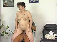 Granny Strips and Fucks
