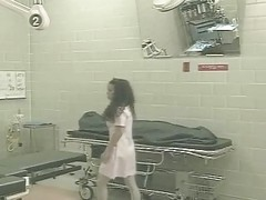 Heather Hunter As A Nurse Takes Black Cock