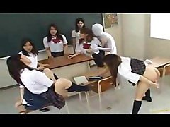 Asian Babe Is A Crazy Schoolgirl