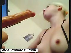 Big Dildo Deep Throat Teen