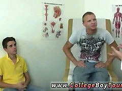 boy high school physical and gay young teen doctor giver enema this