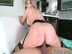 Horny Big Tits Blonde Milf Fucking Hard Part6