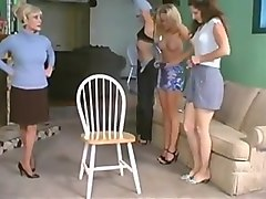 Spanked and given enemas