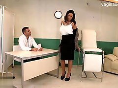 Sensual Jane doctor's check up