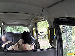 Jess in Scottish Lass Gets Creampied - FakeTaxi