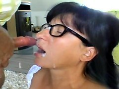 German mature gets from behind and nice facial
