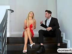 Brandi Love and Bella Rose horny 3some