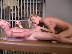 Pat Myne Eats out Tabitha Stevens Pussy and Fucks Her in Jail