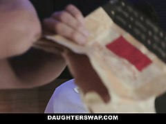 daughterswap- teens tricked into fucking dads best friend