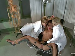 Medical Testing in Wiredpussy Video