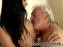 attractive young whore gets seduced by an old man