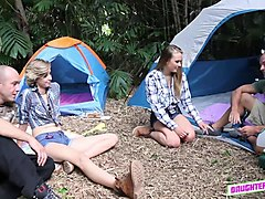 innocent camping took a wrong turn into group orgy